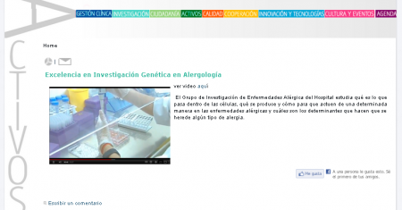 Web Revista Digital del Hospital Macarena