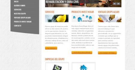 Web Grupo Algari