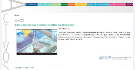 Web Revista Digital del Hospital Macarena