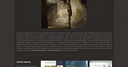 Web Grupo de Investigación ATLAS