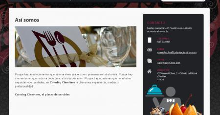 Web Catering Cien Vinos