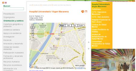 Web Hospital Macarena